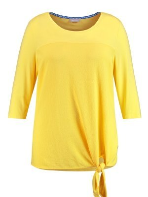 Blusenshirt zum Binden im Materialmix 49,99 €