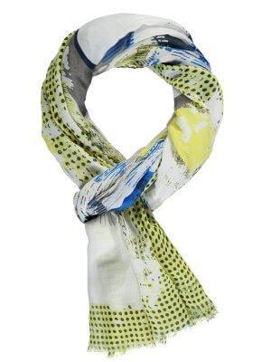 Schal mit trendigem Print 25,99 €